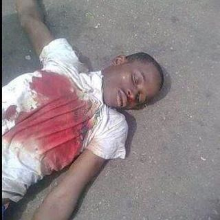 Body of Seyi Bolaji.(occupynigeria protester)